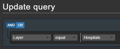 Updating a query